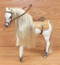 Genuine TM & MGA White Plastic Toy Horse Equestrian For Bratz Dolls **READ**