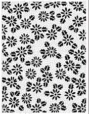 Sue Wilson PinPoint Embossing Folder DOTTED DAISIES 190 x 145mm  EFPP-011