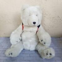 American Eagle Polar Bear SnowBoard Stuffed Plush Children Toys Gund