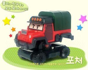 Academy Robocar Poli Diecast Series Mini Figures POACHER Korean TV Animation Toy