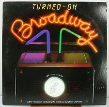 "12"" 33 RPM STEREO LP - RCA AFL1-4327 - TURNED-ON BROADWAY by LUTHER HENDERSON"