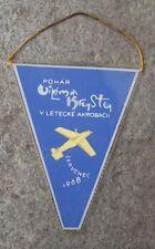 1968 Aerobatics Aircraft Acrobatics Competition Cup Aeroclub Zabreh Pennant Flag