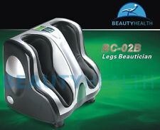 BRAND NEW BEAUTYHEALTH BC-02B UPGRADED LEGS CALVES ANKLES FEET MASSAGER Free S&H