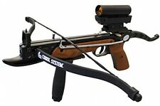 Prophecy 80 Pound Aluminum Self-cocking Pistol Crossbow With Cobra System Limb,