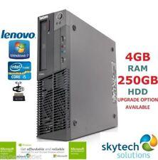 PCs de sobremesa y todo en uno Windows 7 Lenovo con 120 GB o más de disco duro