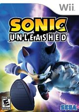 Sonic Unleashed - Nintendo  Wii Game