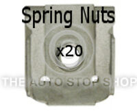 Double Spring Nuts For Head Cap Screws VW LT28-50/Lupo/Multivan etc 10954 20PK