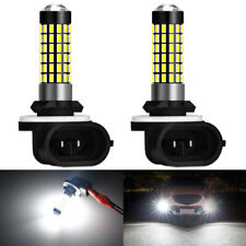 2x Blanco 881 H27W 12V CREE LED Bombillas 1600W Lámparas de Luz de Niebla Conducción Luz DRL Reino Unido