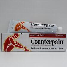 COUNTERPAIN TAISHO Hot Cream Analgesic Balm Relieves Muscular Aches Pain 120g