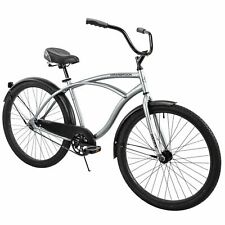 "Huffy 26"" CranBrook Comfort Cruiser Bike, Silver - NEW IN BOX- Ships TODAY!"