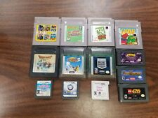 Nintendo Game Lot Gameboy Color Advance GBA Super SNES N64 Gamecube DS 3DS Wii