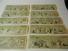 Vintage Aug 1971 Lil Abner Al Capp Newspaper Comic Strip Lot of 10 1970s 5B