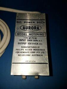 VINTAGE AURORA SLOT CARS AUSTRALIAN MADE POWER SUPPY IN VGC.