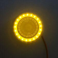 Pinball bumper cap LED ring MOD - YELLOW