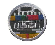 TV Broadcast Test Screen embroidered Badge Patch