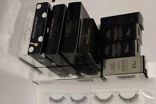 12 items lot: 1 YSL Yves Saint Laurent & 9 Dior EMPTY Makeup Boxes & Eyelashes