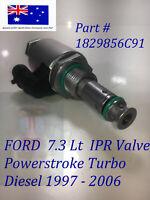 FORD 99-06 F SERIES IPR VALVE 7.3Lt Fuel Injection Pressure Regulator Valve