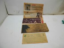 vintage Bear archery envelope with bow ins and registration card bear archery pr