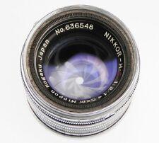 Nikkor 5cm f2 Leica SM  #636548