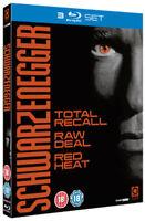 Schwarzenegger - Totale Richiamo / Crudo Trattare/Rosso Calore Blu-Ray Nuovo (