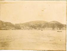 Panorama de Stora, ca.1898 vintage citrate print Vintage citrate print,  mounted