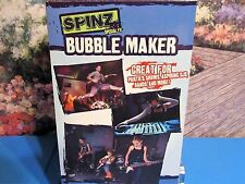 Spins Special Fx Automatic Large Stream Bubble Maker Portable Includes Solution