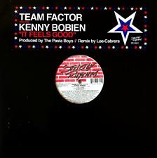 "TEAM FACTOR FT KENNY BOBIEN - IT FEELS GOOD (12"") (G-VG/VG)"