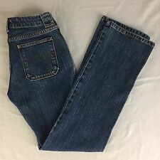 "Gap Jeans Low Rise Boot Cut Stretch Women Size 6R 30"" x 32"""