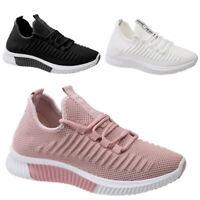 Damen Schuhe Atmungsaktiv Freizeit Sneaker Sportschuhe Turnschuhe Laufschuhe
