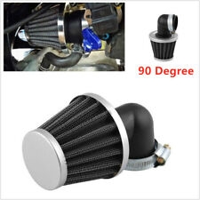 90 Degree Air Intake Filter Pod  Bend Elbow For Motorcycle Scooter ATV 50 -110cc