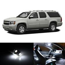 18x HID White Interior LED Lights Package Kit Fits 2013-2014 Chevy Suburban New