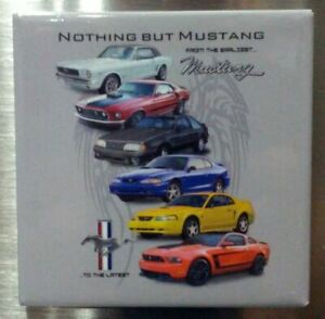 "Mustang ""Nothing But Mustang"" Magnet * Last Ones! * Get Free USA Shipping * Rare"