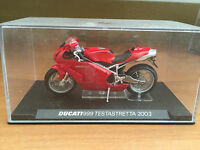 "DIE CAST "" DUCATI 999 TESTASTRETTA 2003  "" SCALA 1/24"