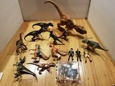 Lot/ Collection (15) 1993-2000 Kenner Jurassic Park  Dinosaurs T-Rex / Figures