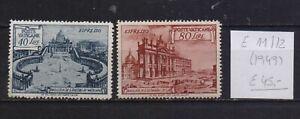 ! Vatican 1949. Express  Stamp. YT#E11/12. €45.00!