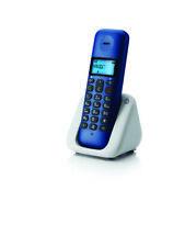 TELEFONO CORLESS MOTOROLA T301 PLUS VIVAVOCE RUBRICA ID CHIAMANTE 5 SUONERIE BLU