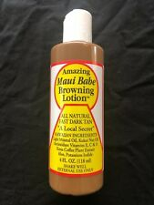 Hawaiian MAUI BABE BROWNING TANNING LOTION 4oz