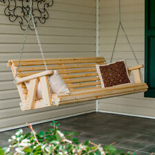 4Ft Pine Rolled Porch Swing handmade by Peach State Swings!!!  Blowout Sale!!!