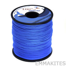 Us Stock 500ft 350lb Blue Kite Line String 100% Uhmwpe for Water Sports Outdoors