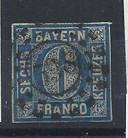 Allemagne - Bavière N° 11 Obl (FU) 1861-62