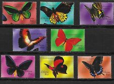 LIBERIA  Butterflies issue of 8 MINT NH