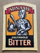 ADNAMS SOLE BAY SOUTHWOLD BITTER BEER MAT