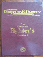 Advanced Dungeons & Dragons The Complet Fighter's Handbook AD&D 2nd Edition TSR