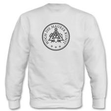 Jersey de Hombre i Alto Die Maurer Sintético Escudo Gremio Logo hasta 5XL