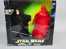 "Vintage Star Wars Emperor Palpatine & Royal Guard  12""  Figures  #rk2"