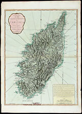 Jefferys Antq&ExtRare Lt 18thC 1794 Map [1807 Atlas] Island And Kingdom Corsica