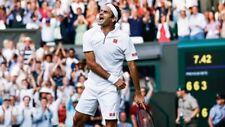 RARE New Roger Federer Uniqlo Wimbledon 19 White Uniqlo Tennis Shorts Size XL