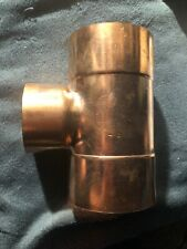 Plumber's Choice 91617 4 in x 4 in x 3 in Copper Fitting with Reducing Tee