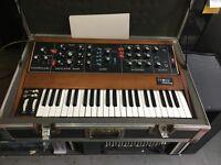 Moog Minimoog MODEL D OSC Analog Synth W/CASE MIDI ORIGINAL VINTAGE //ARMENS.