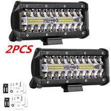 2x Hochleistung 120W LED Zusatzscheinwerfer Lampe IP67 for Offroad Auto Jeep ATV